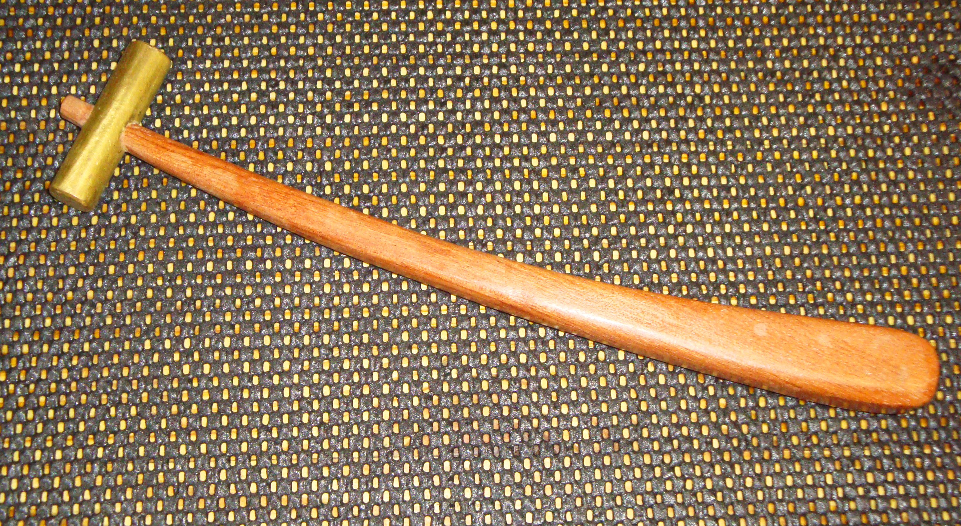 hammer this little guy is a bubinga handled hammer with a brass ...